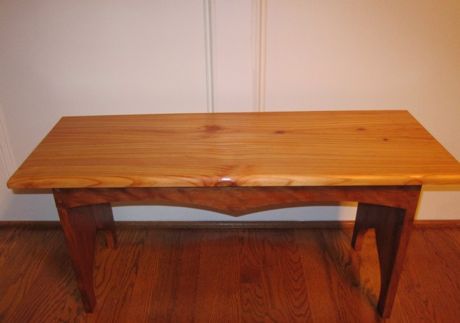 Classic Five Board Bench